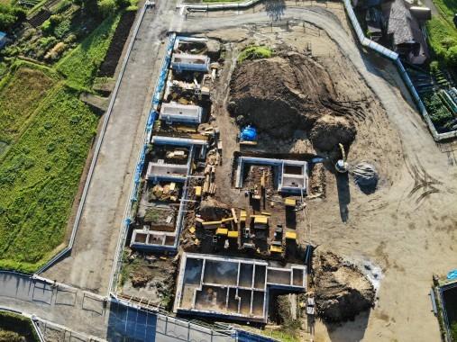 R1.6.13現在のこども園建設工事状況写真3
