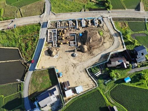 R1.6.13現在のこども園建設工事状況写真2