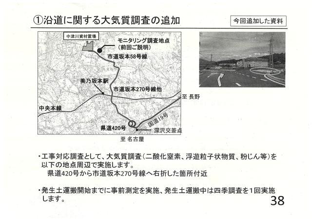 沿道に関する大気質調査の追加④