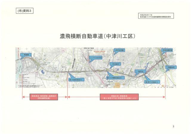 濃飛横断自動車道(中津川工区)