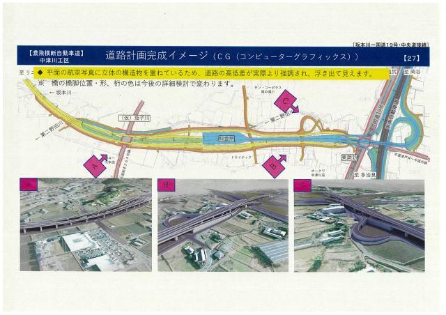中央道・国道19号~坂本川